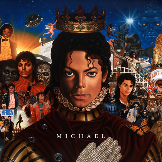 Album cover for Michael Jackson - 'Michael'