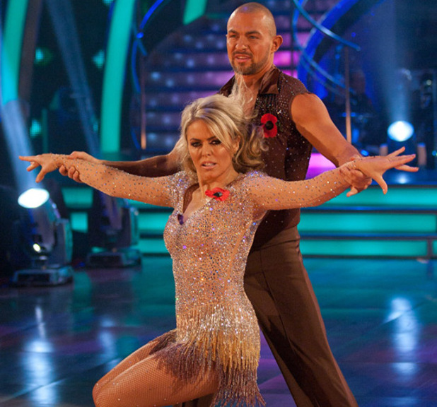 Patsy Kensit and Robin Windsor (Dance: Cha Cha Cha)