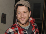 X Factor finalist Matt Cardle leaving a London gym after rehearsals