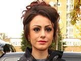 Cher Lloyd leaves the studio after X Factor rehearsals in London