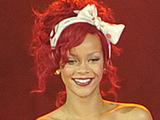 Rihanna at The Westfield Shopping Centre to switch on the Christmas lights