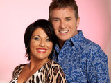 Kat Slater and Alfie Moon from EastEnders