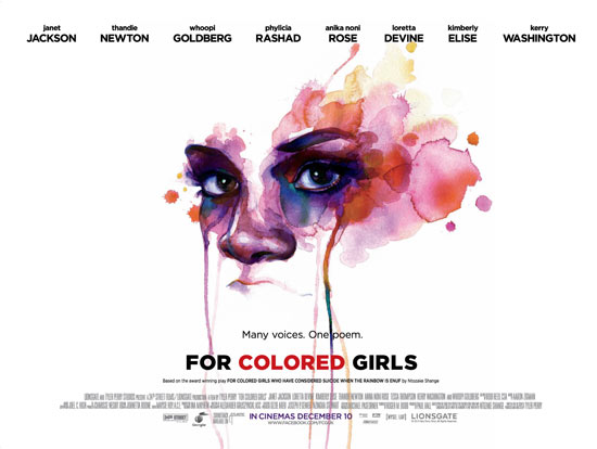 Four Coloured Girls poster