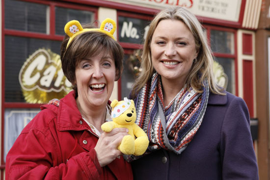 Children in Need Coronation Street EastEnders crossover