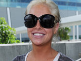 Kayla Collins arrives in Australia for I'm A Celebrity...
