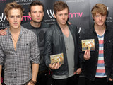 McFly meet fans and sign copies of their new single at HMV