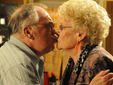 Jack and Vera kiss