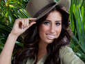 Stacey Solomon speaks to her I'm A Celebrity campmates about the backstage X Factor spats.