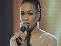 X Factor's Rebecca Ferguson  insists that she is staying grounded despite constant praise.