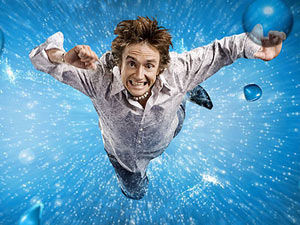 Richard Hammond on Total Wipeout