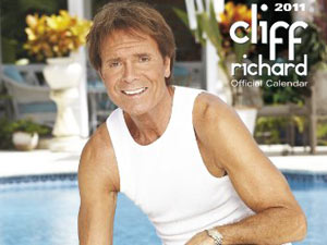 Cliff Richard calendar
