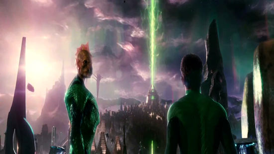 Hal is shown the source of the Green Lanterns' power.