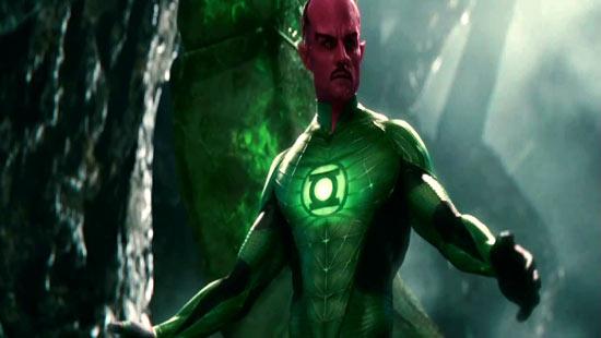 Green Lantern's mentor Sinestro