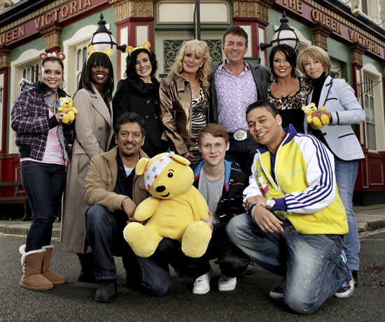 EastEnders & Coronation Street on Children In Need