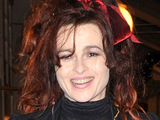 Helena Bonham-Carter swithces on the Burlington Arcade Christmas Lights in London