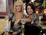 Beverley Callard and Jesse Wallace in the Queen Vic