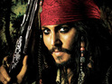 Johnny Depp says that he suffered a back injury while filming Pirates of the Caribbean: On Stranger Tides.