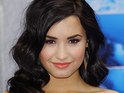 Demi Lovato reveals that she used to date one of the contestants on The Glee Project.