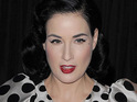 Dita Von Teese is reportedly struggling to find a company that is willing to carry her planned perfume.
