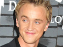 Tom Felton reveals that his looks were what gave him the role of Draco Malfoy in the Harry Potter series.