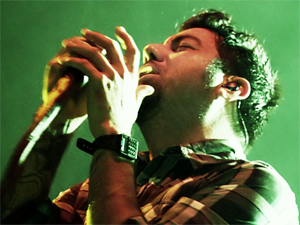 Deftones in concert at the Manchester Apollo arena, England