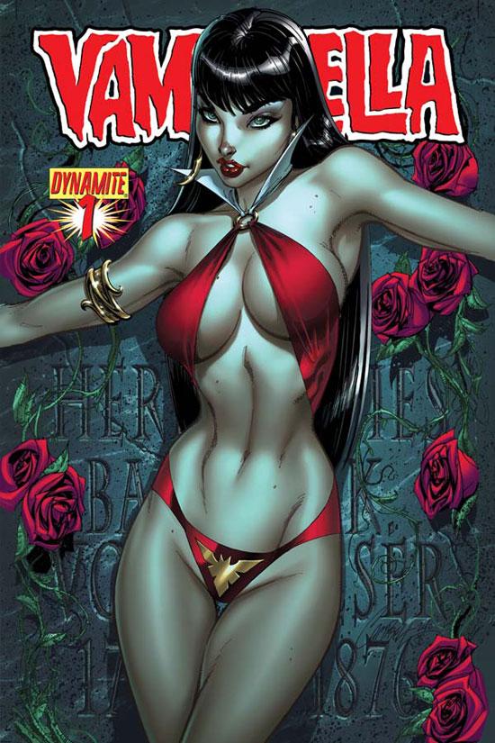 The latest teaser of 'Vampirella' #1