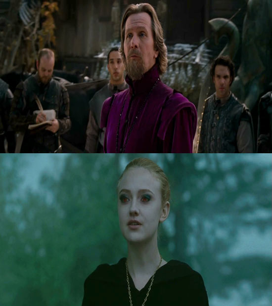 Gary Oldman vs. Dakota Fanning