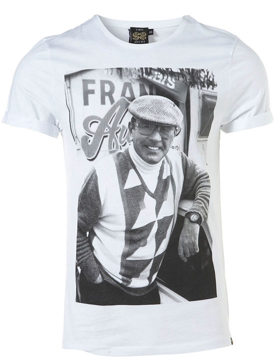 Frank on a t-shirt