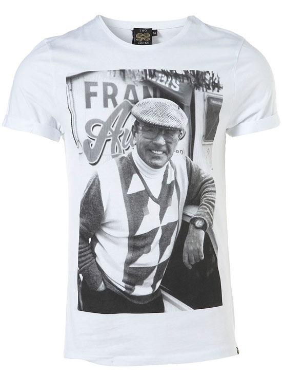 Frank on a t-shirt