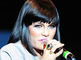 Jessie J performing at 'Britain's Next Top Model' live