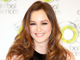 Gossip Girl actress Leighton Meester attending a photocall in Madrid, Spain