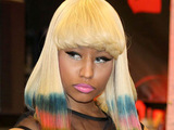 Nicki Minaj at her CD signing for 'Pink Friday' at Best Buy, New York