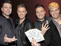 "Westlife reveal that they are excited about ""working with the competition""."