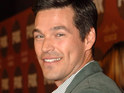 Eddie Cibrian says that wife LeAnn Rimes likes to spend her free time working out, but doesn't think she's too thin.