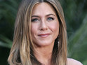 "Jennifer Aniston says that she loves bringing ""joy"" to people through comedies like Just Go With It."