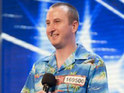 Click in for pics of Kirk Sutherland auditioning for X Factor in a special Corrie sketch.