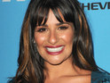 "Lea Michele says that it would be ""incredible"" to sing with Susan Boyle in Glee."