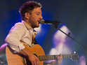 Matt Cardle claims that he feels like an idiot when someone carries his guitar for him.