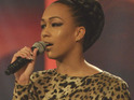 X Factor's Rebecca Ferguson teases her song choices for this week's semi-final.