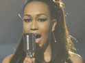 X Factor's Rebecca Ferguson insists that she is keeping her feet on the ground.
