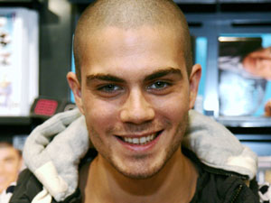 Max George of 'The Wanted'