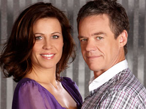 Paul and Rebecca Robinson from Neighbours