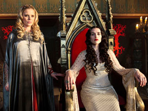 Merlin S03E12: Morgause and Morgana