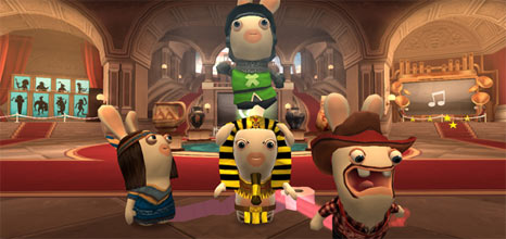 Gaming Review: Raving Rabbids: Travel in Time