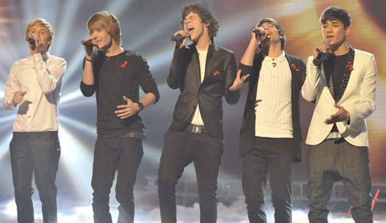 X Factor Week 9: One Direction
