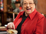 Betty Williams (played by Betty Driver) with a hotpot