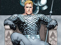 A new series featuring Aquaman and written by Geoff Johns was announced at MegaCon