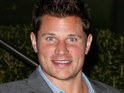 Nick Lachey celebrates his bachelor party with friends in Las Vegas over the weekend.