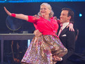 "Ann Widdecombe is compared to a ""Dalek in drag"" by the Strictly Come Dancing judges."