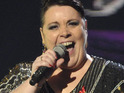 Mary Byrne reveals that X Factor hopeful Cher Lloyd can be dramatic at times.